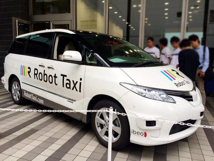 Japan's robot taxis get green light for 2016 [for sun 7am]