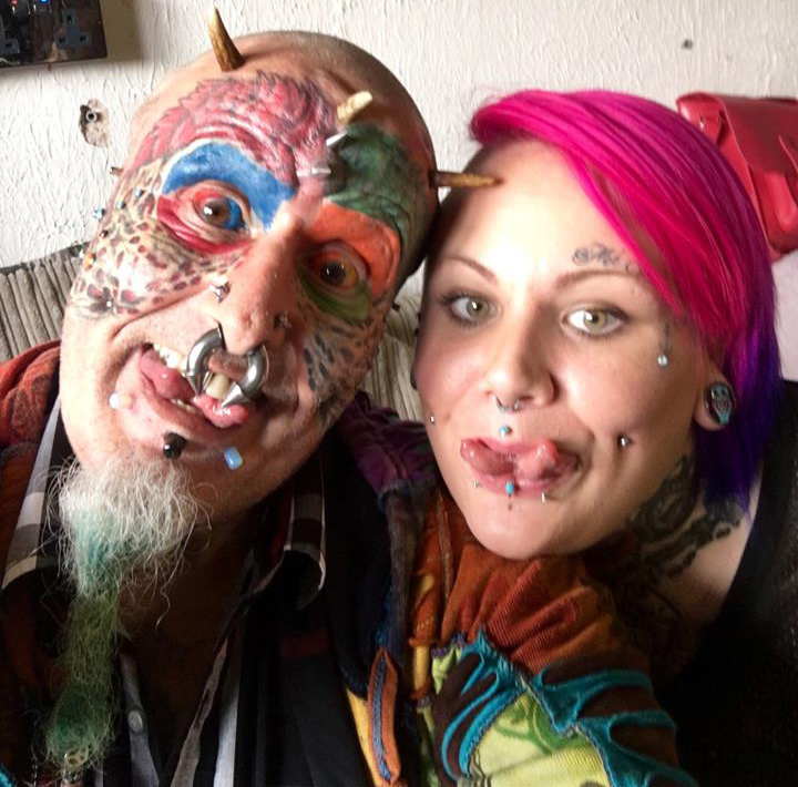 Extreme Body Modification Ted Richards Cuts Off His Ears To Mimic Pet Parrots