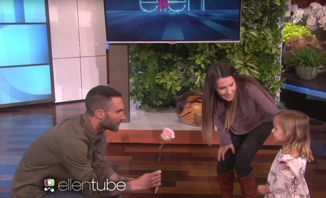 Watch Adam Levine Meet His Biggest 3-Year-Old Fan on Ellen