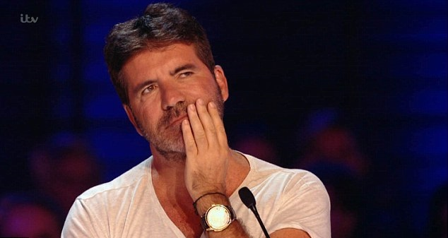 The X Factor Simon Cowell Loses The Plot In Traumatic