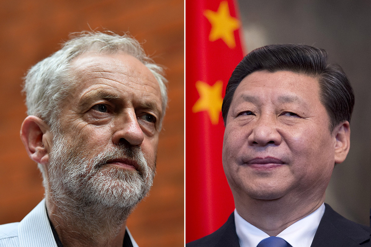 Labour leader jeremy corbyn undeterred in chinese human rights challenge