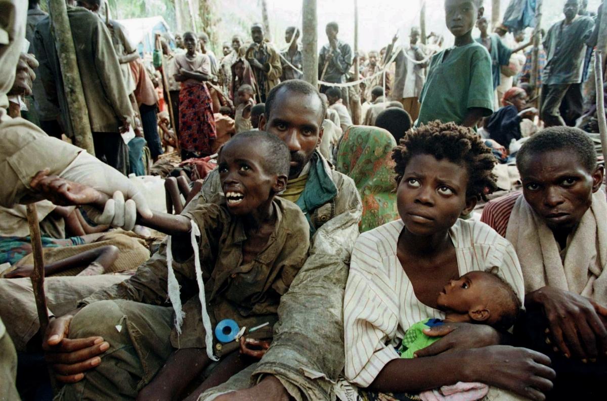 Rwandan Hutu refugees