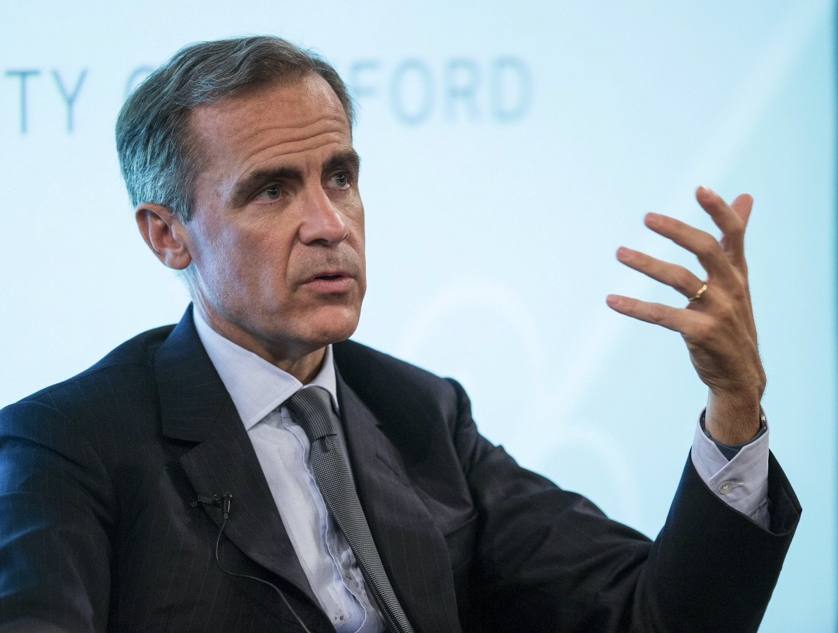 Mark Carney Bank England EU