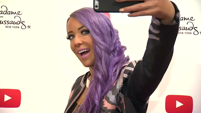 Jenna Marbles: YouTube star gets Madame Tussauds waxwork ...