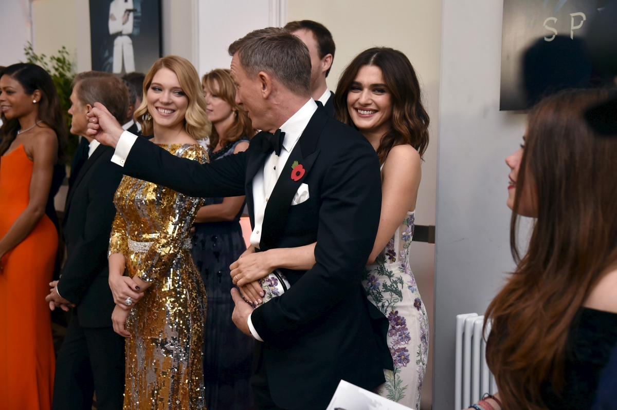 Pics Photos - Daniel Craig And Rachel Weisz Are Officially Husband And ...