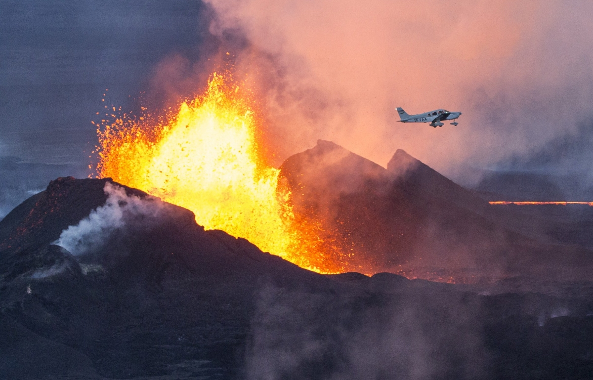 Volcanoes like Bardarbunga volcano in Iceland could provide a renewable energy source for the UKGetty Images)
