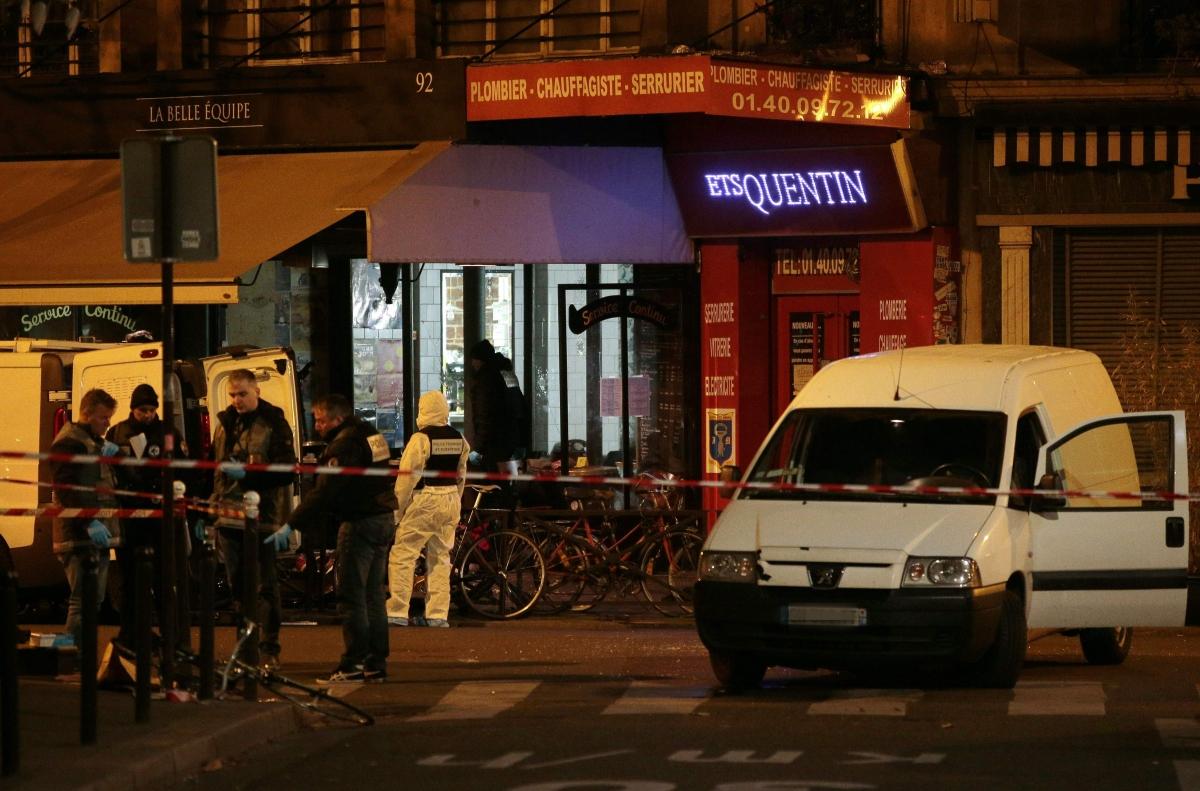 Cafe Theatre Paris Le  Novembre