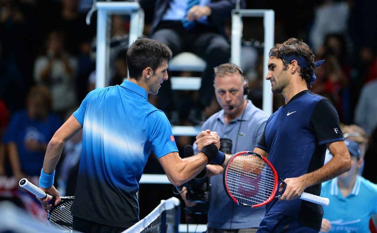 Roger Federer vs Novak Djokovic, Barclays ATP World Tour ...
