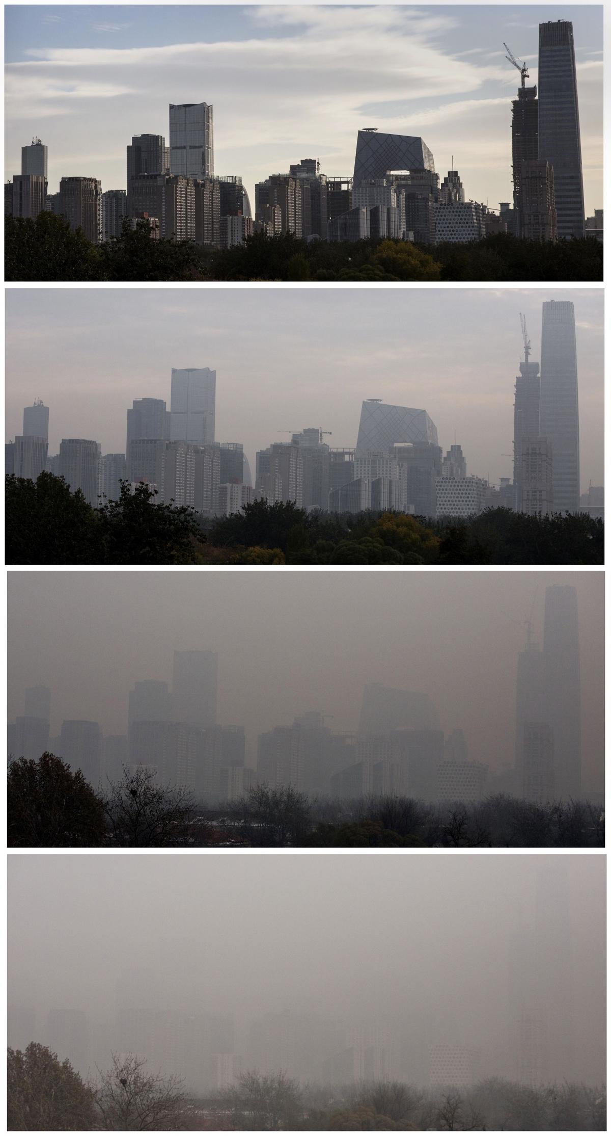 COP21: Beijing chokes in hazardous pollution as President ...