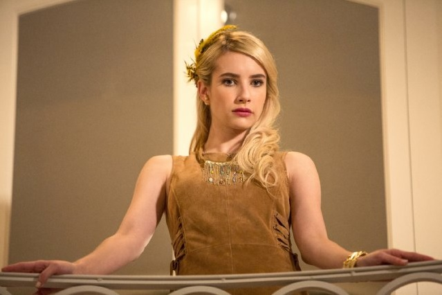 Emma roberts scream queens s02e01