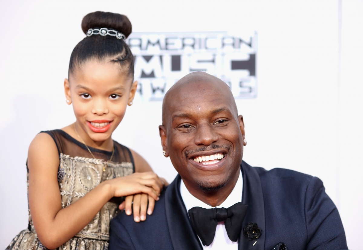 Pics photos tyrese gibson picture 8 - Is Tyrese Gibson The World S Best Dad Furious 7 Star Buys 8 Year Old Daughter An Island