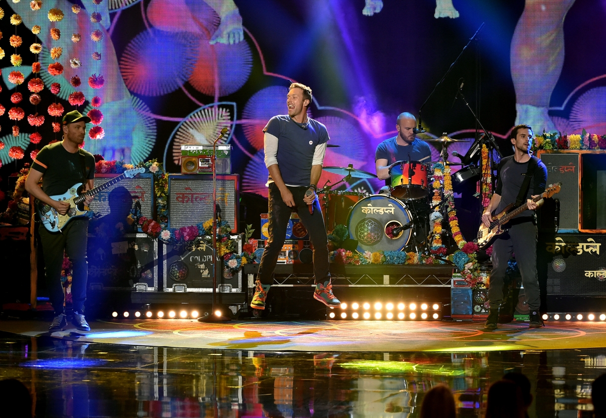 Coldplay Tour  Tickets On Sale
