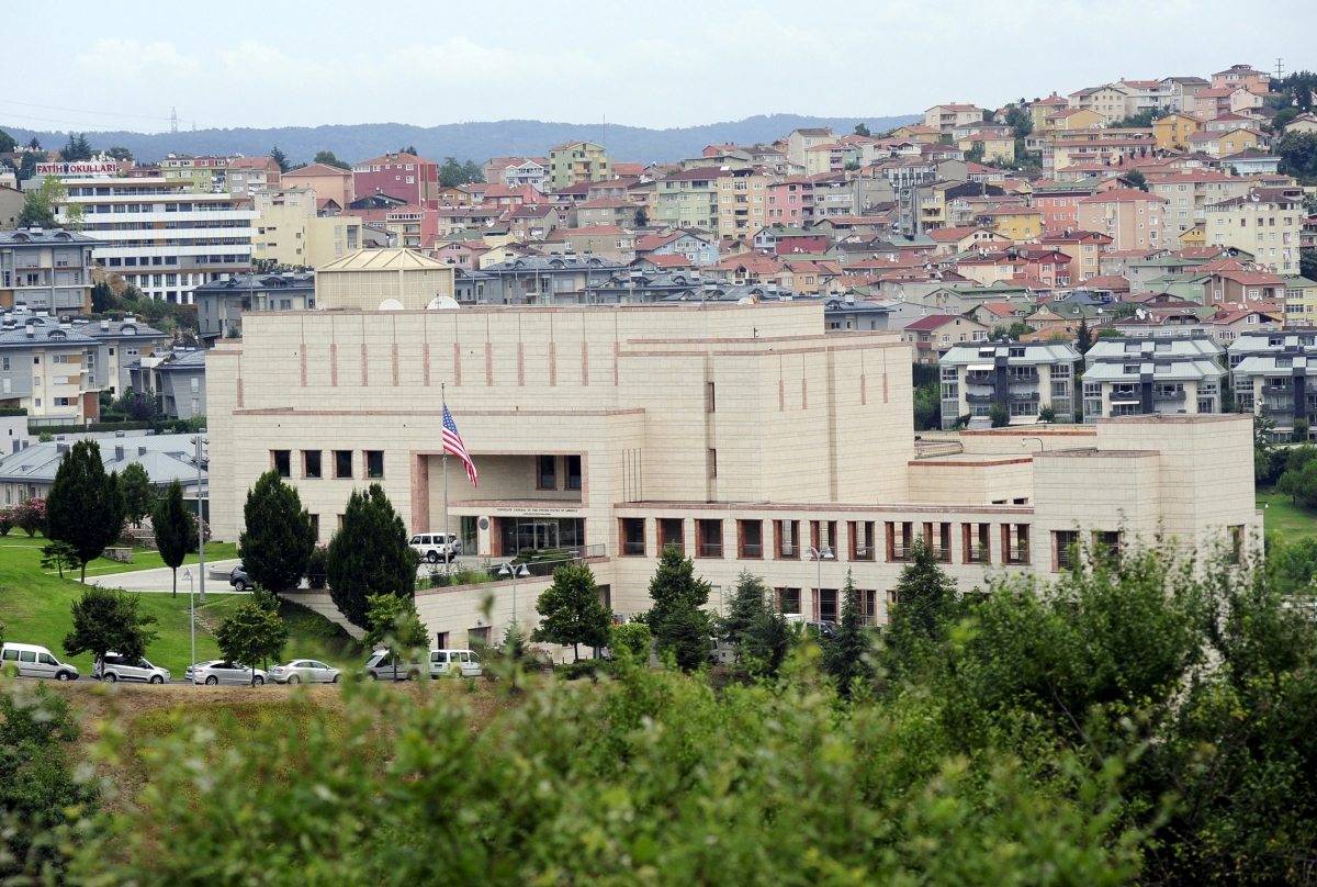 Turkey us consulate in istanbul closed over security threat for The consulate