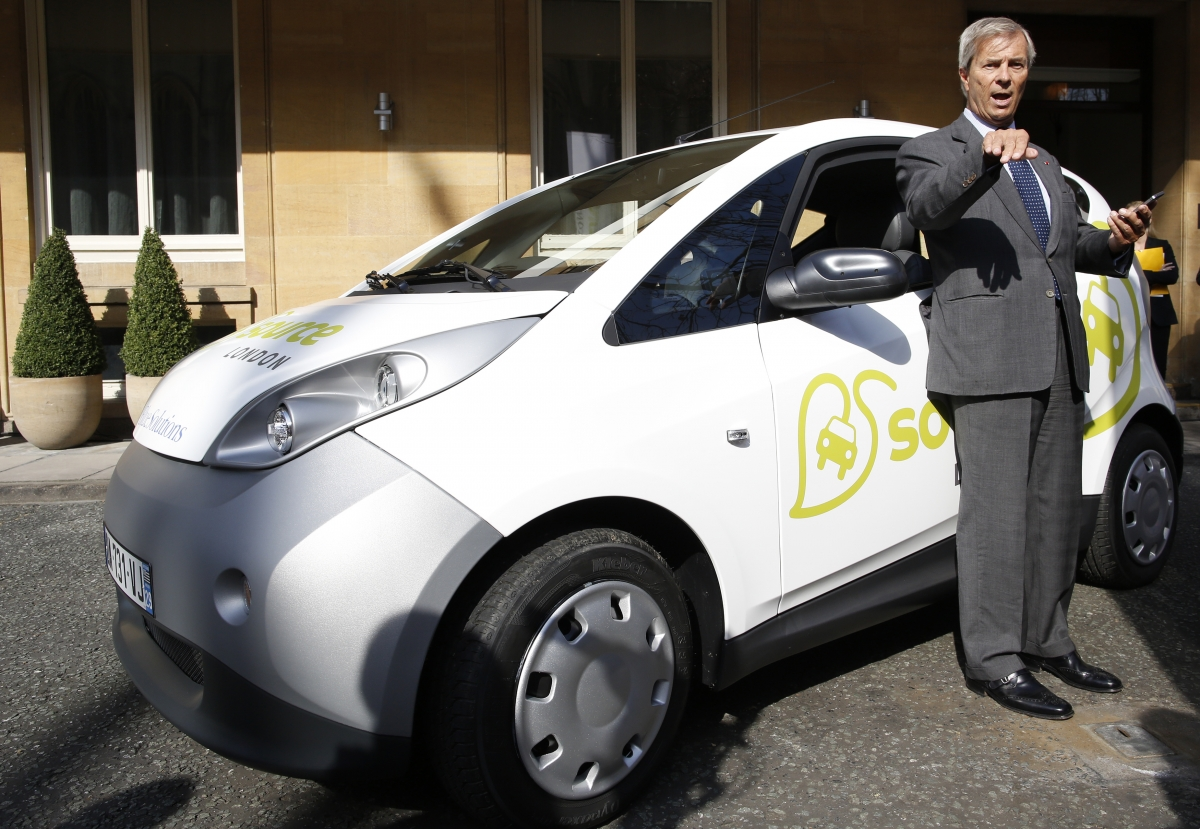 Vincent Bollore To Launch London Electric Car Scheme In January