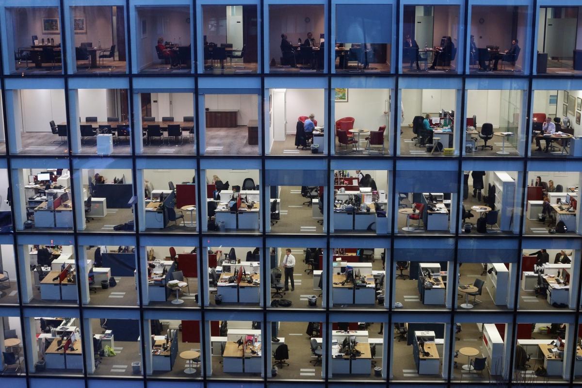 Office Window View Night : Oxfam google or easyjet the best companies in uk