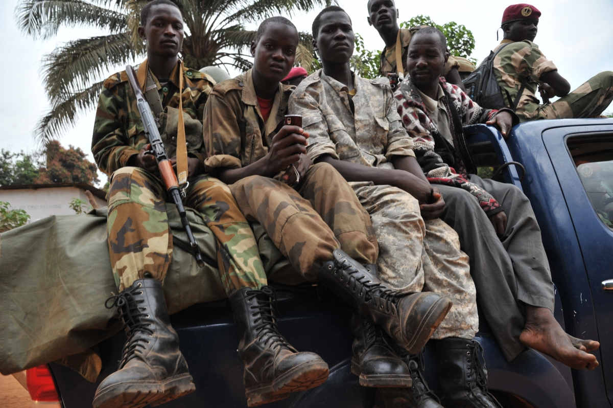 Muslim insurgents were supposedly disbanded but un peacekeepers say