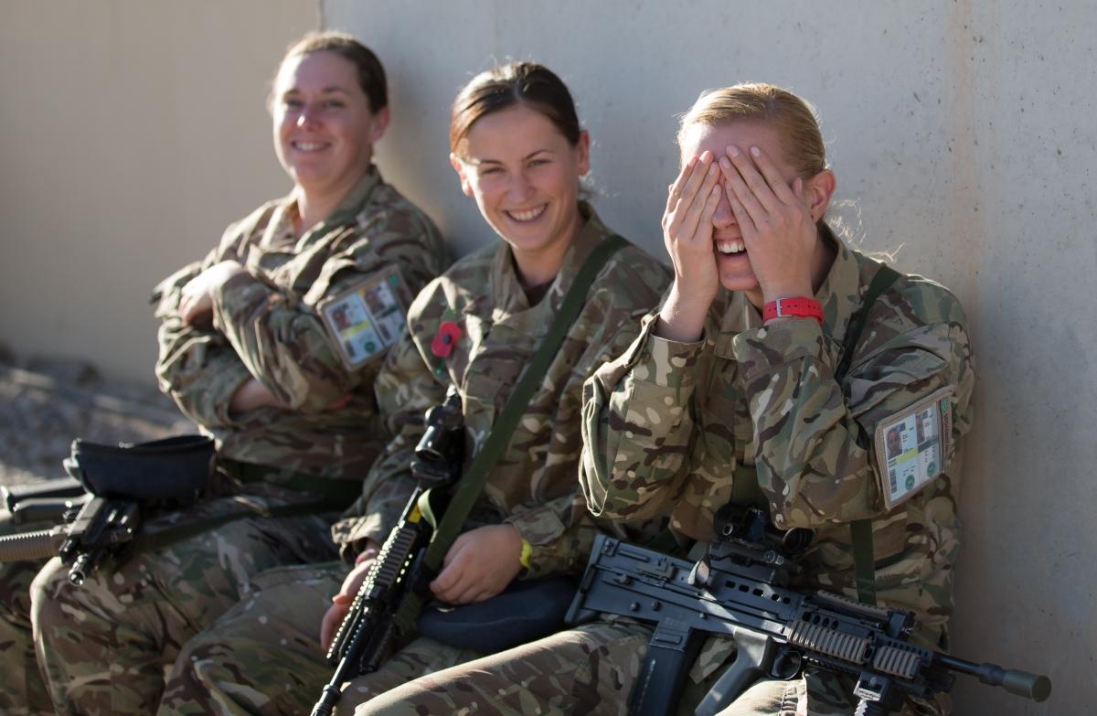 British women soldiers to go into close combat 39 within for Chambre de commerce franco britannique paris