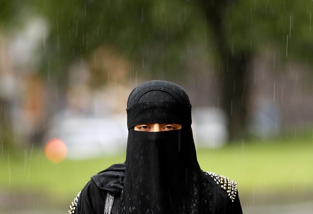 muslim outside