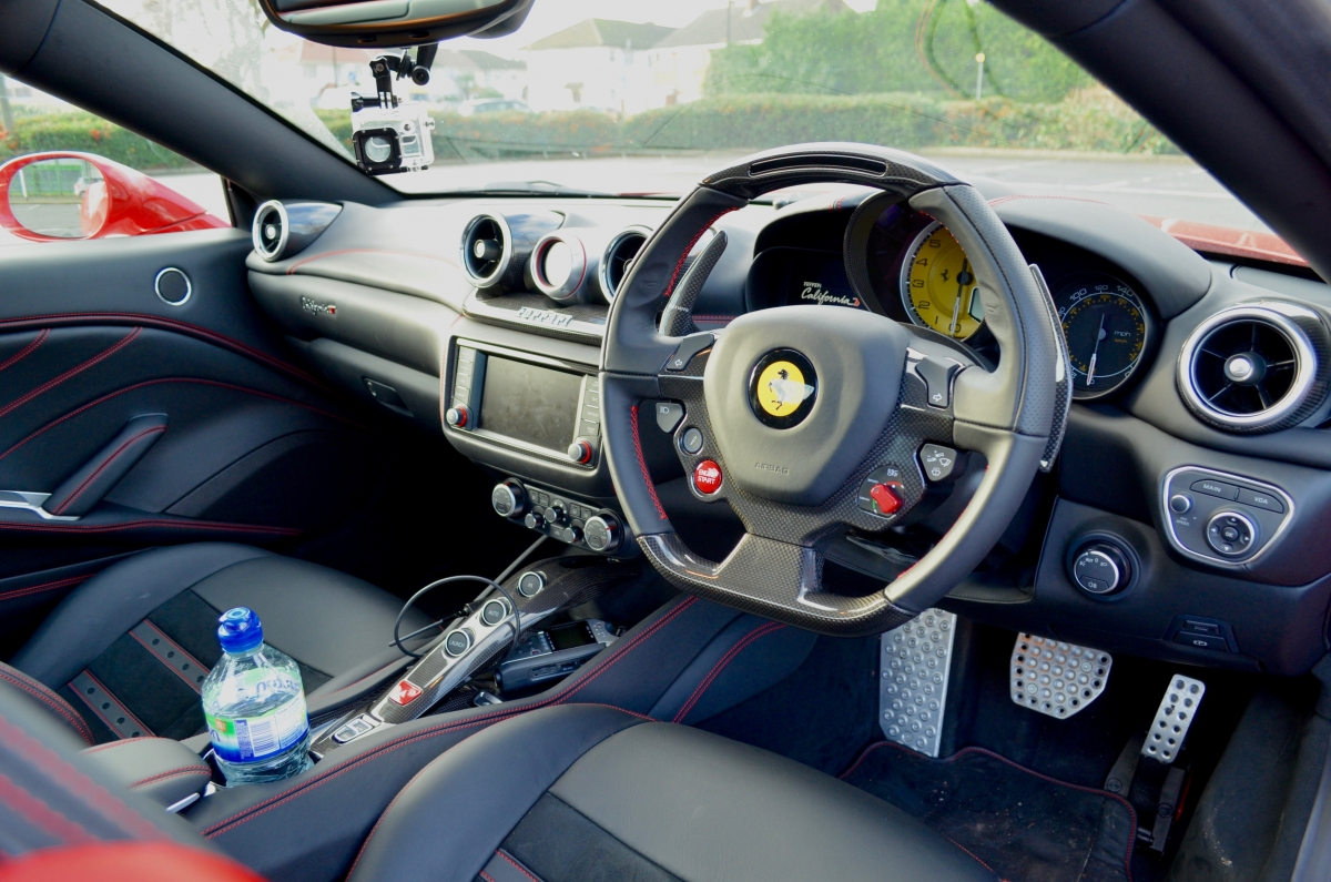 Ferrari california t review come rain or shine this for Ferrari california t interieur