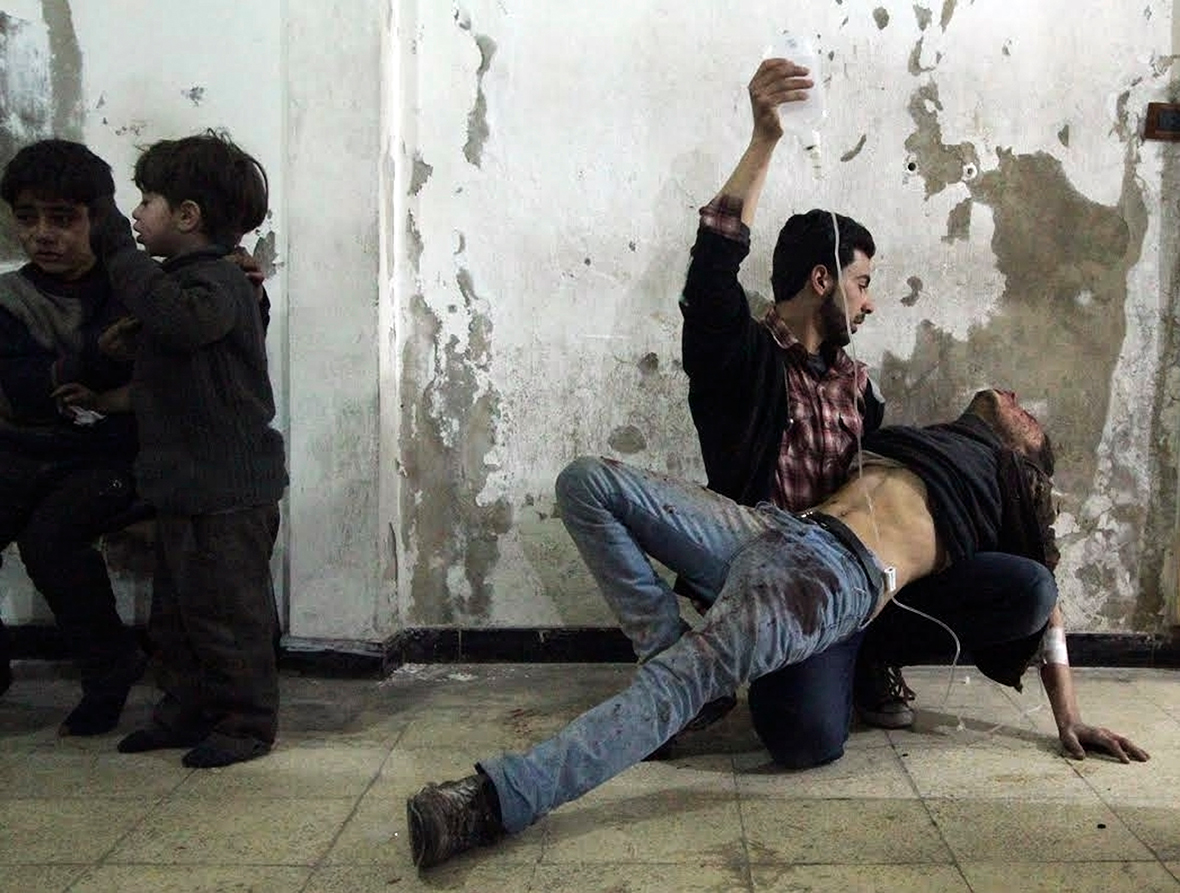 Syria conflict in 2015 Another bloody year in the war torn country Graphic