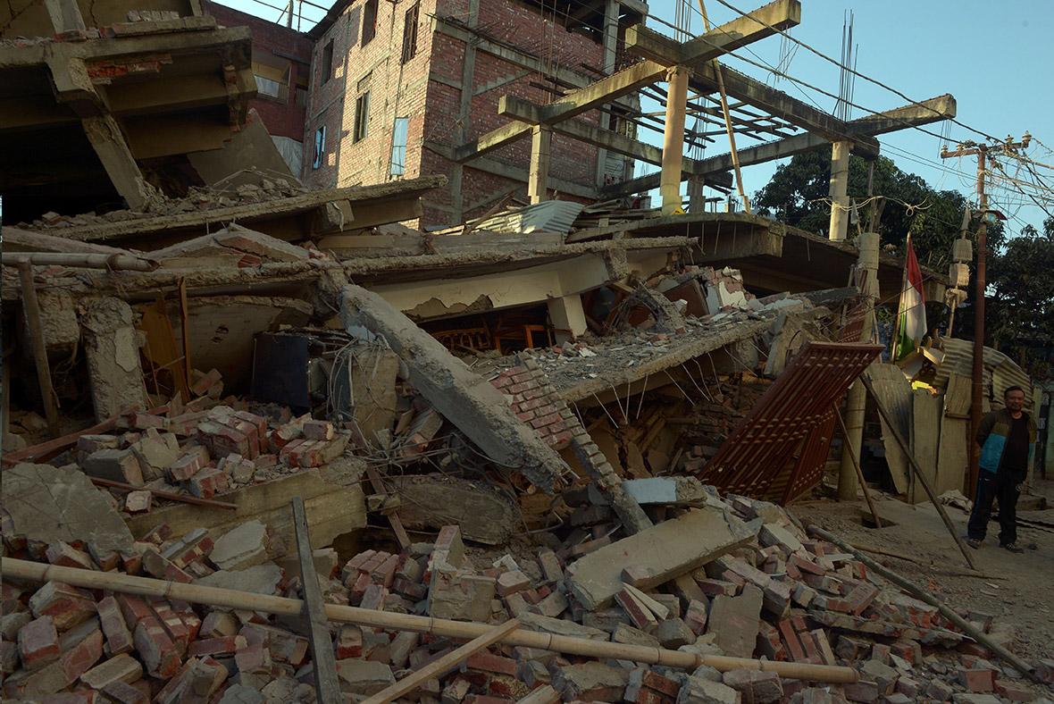 Earthquake Causes Devastation Across North East India