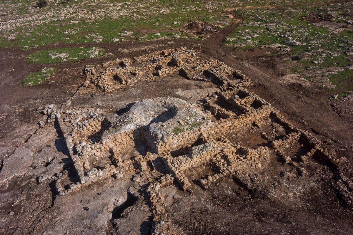 twin archaeological discoveries in israel depict life before and after christian era