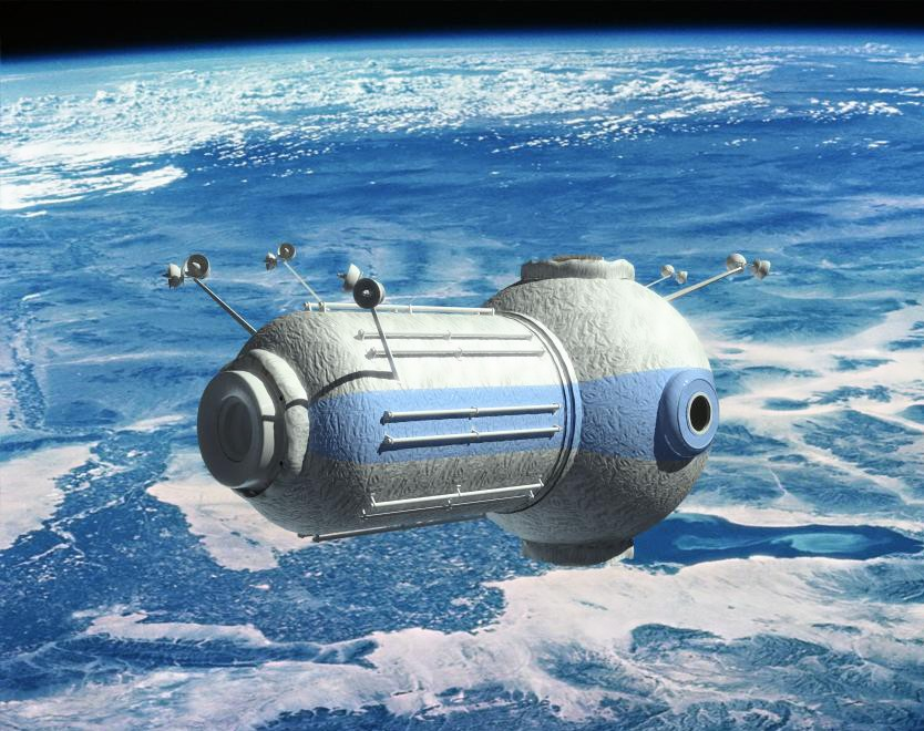 Russia construct first space hotel 217 miles above ground photos