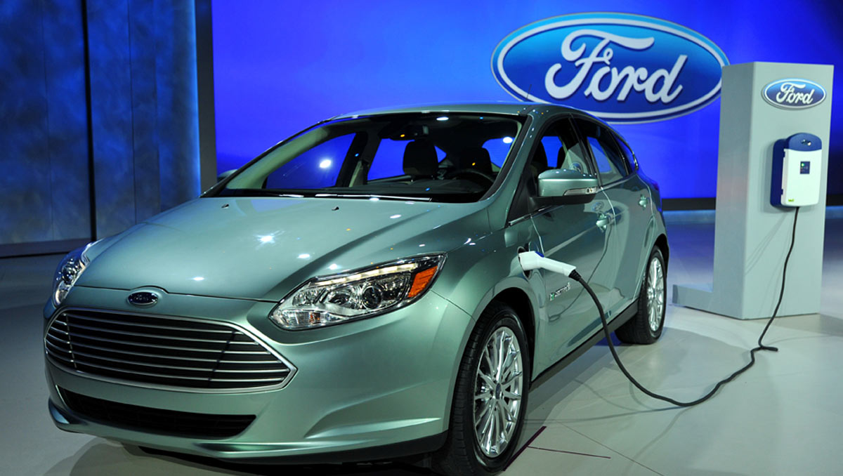 ces 2016 ford promises to launch 13 electric vehicles by 2020 plus drone to vehicle technology. Black Bedroom Furniture Sets. Home Design Ideas