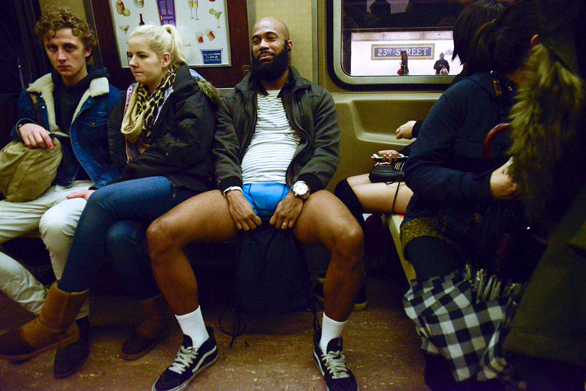 no pants subway ride 2016 commuters around the world