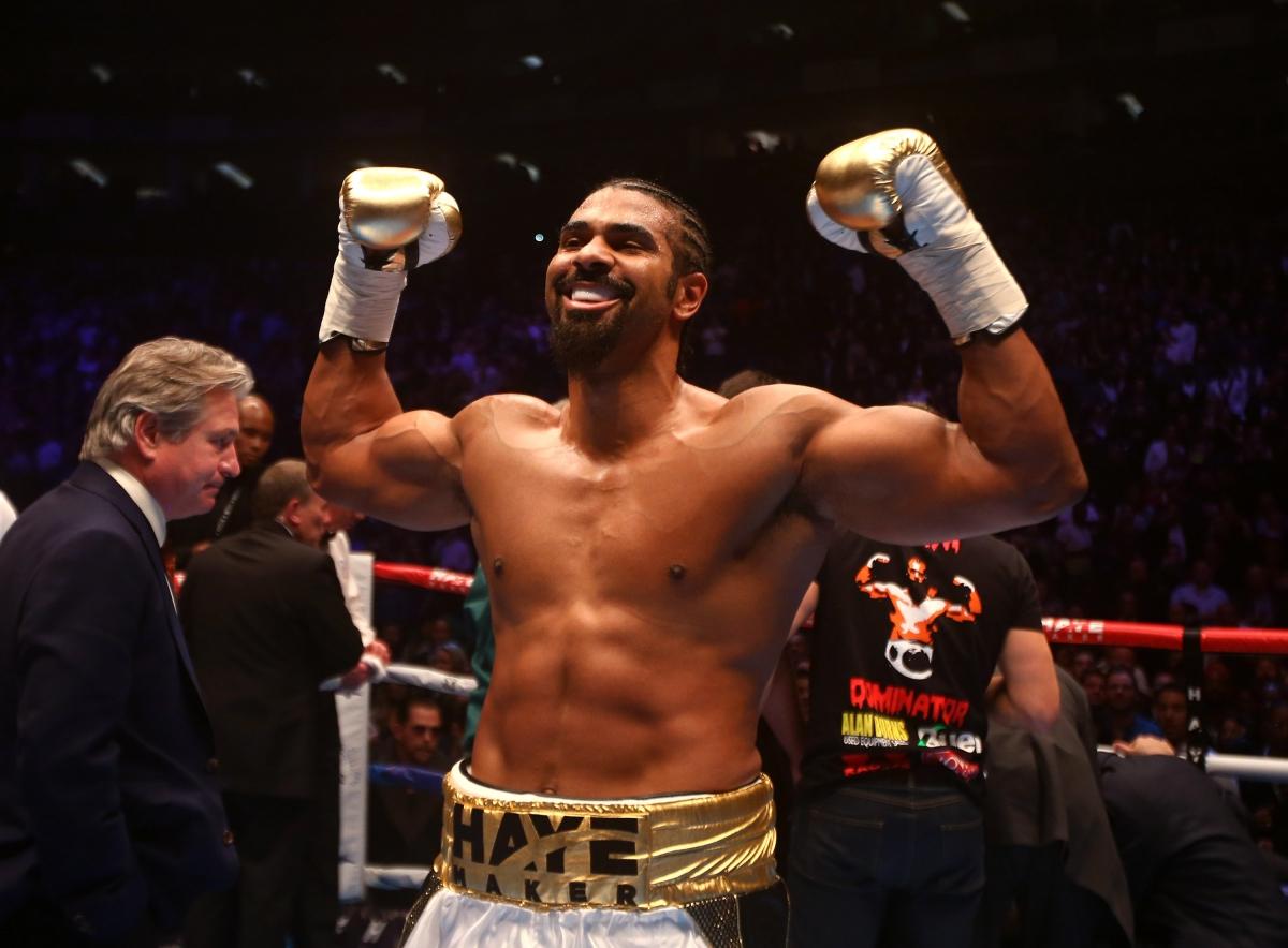 david haye upcoming fight
