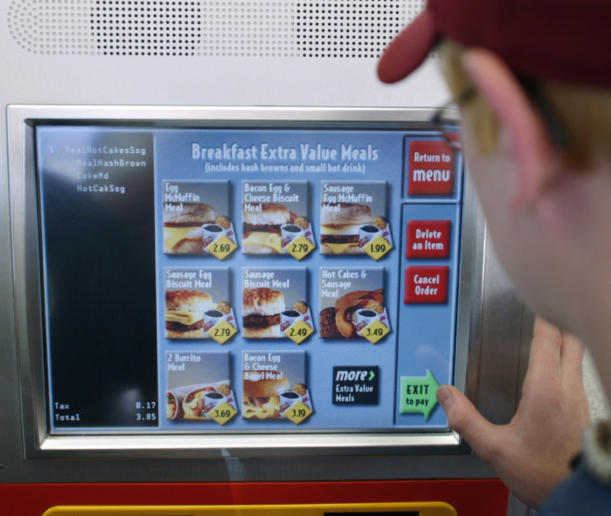 Mcdonald S To Roll Out Digital Ordering Kiosks At Its