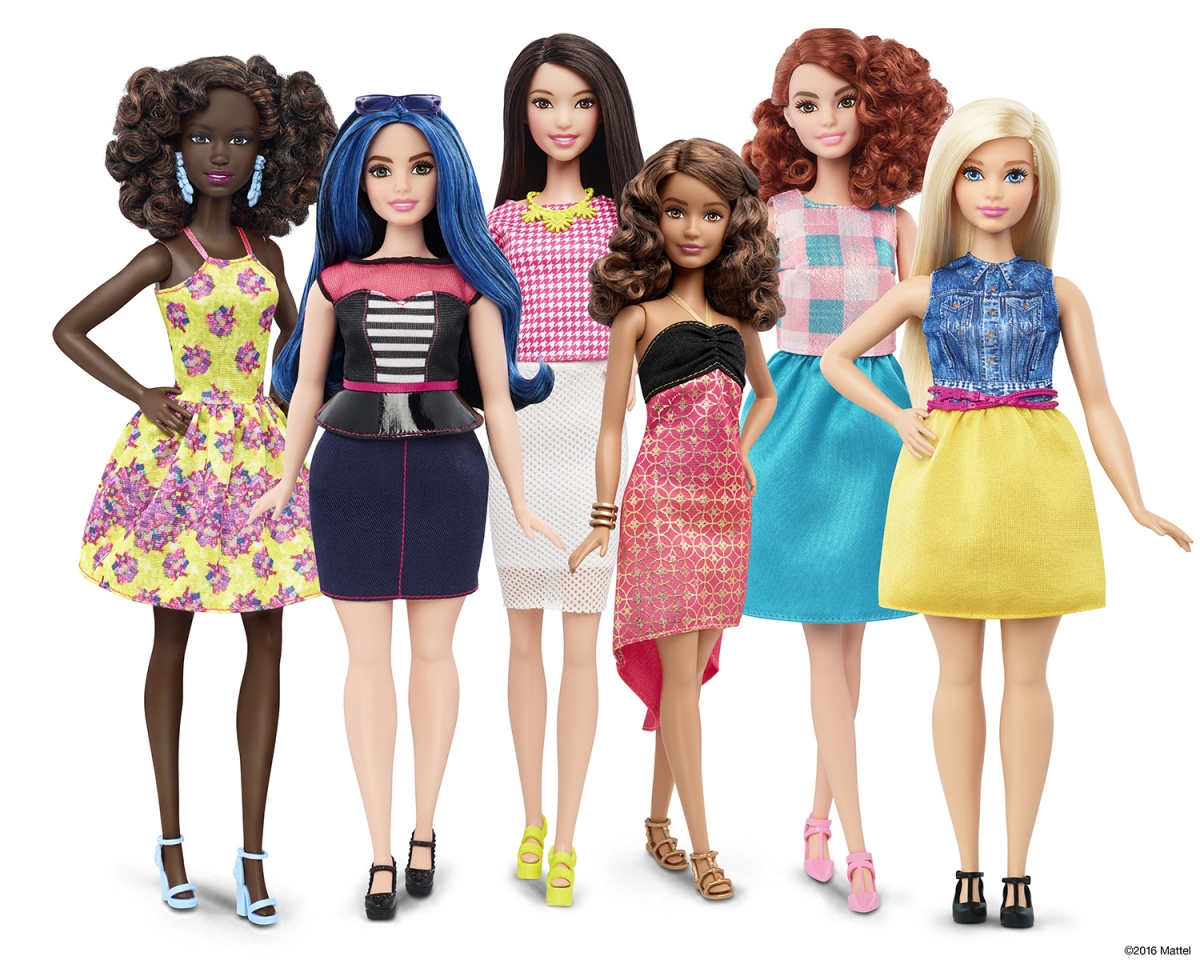 Barbie: 'The Doll Evolves' as Mattel launches figure with different skin tones and body types