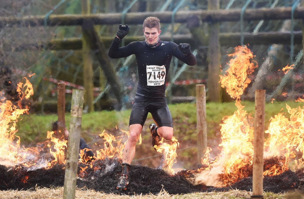 Tough Guy 2016: Mud, fire and the Brandenburger Gate