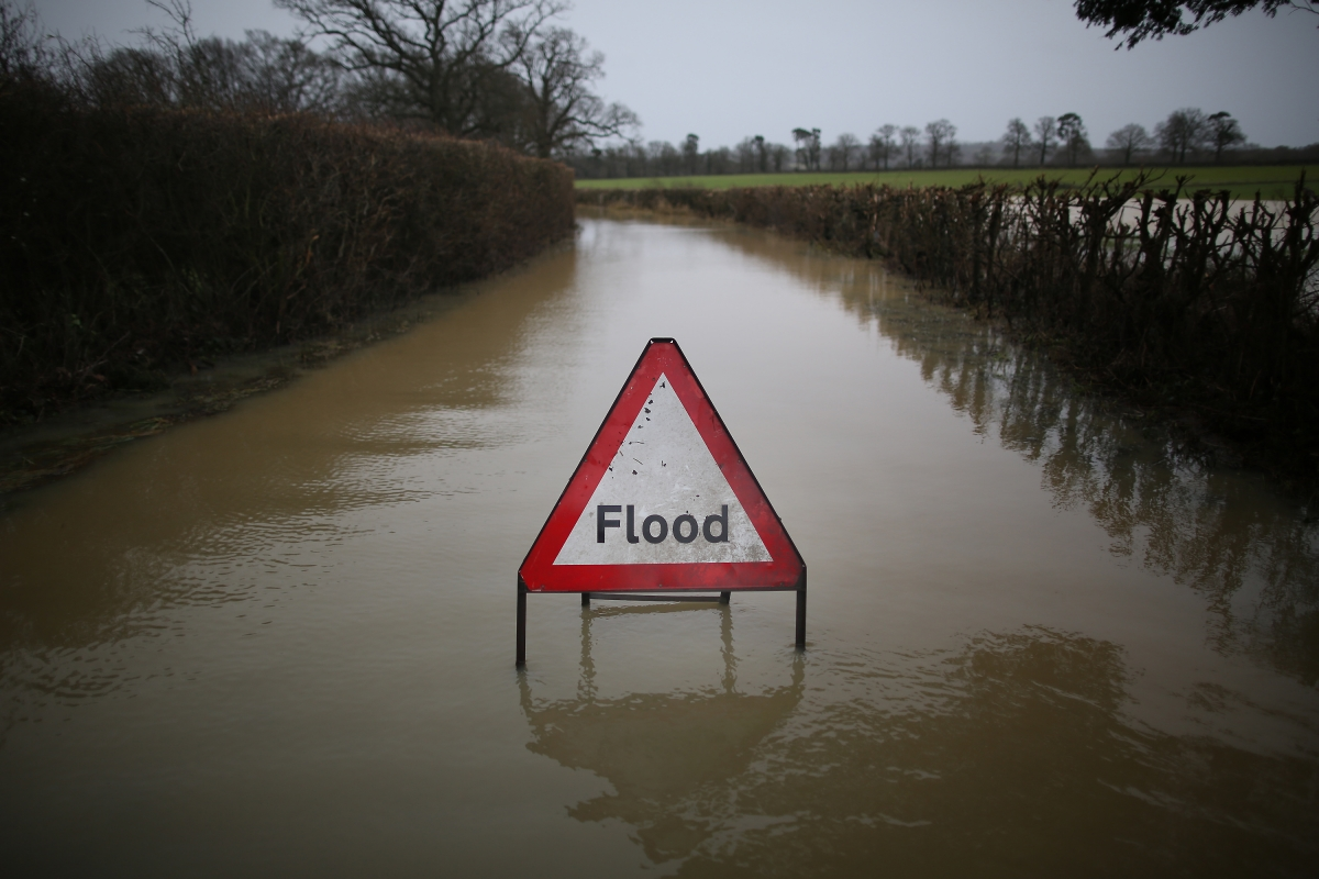 Uk Weather  2014 Flooding A Result Of Climate Change As