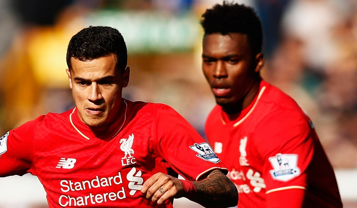 Image result for coutinho or sturridge