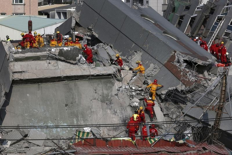 Earthquake in Taiwan