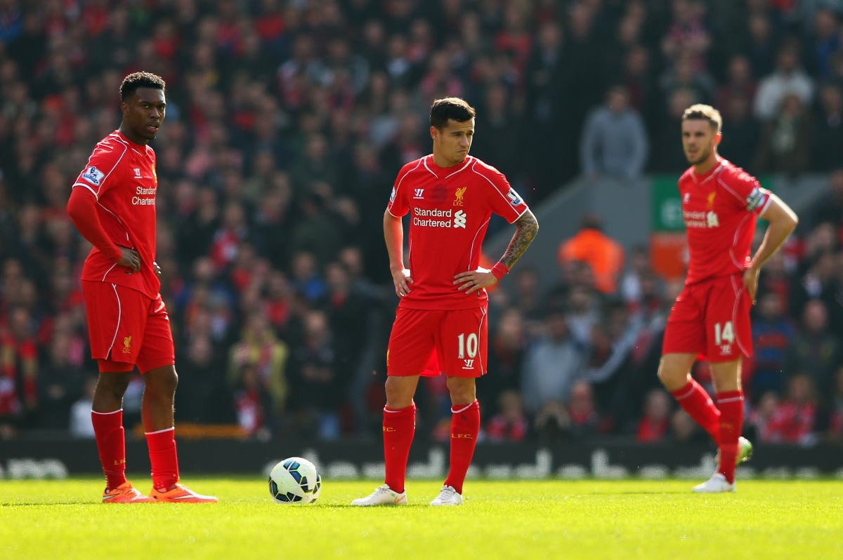 Philippe Coutinho and Daniel Sturridge