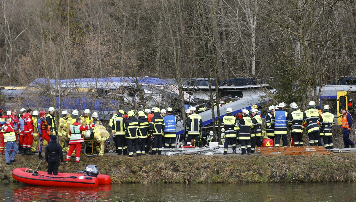 Germany Train Crash Bad Aibling