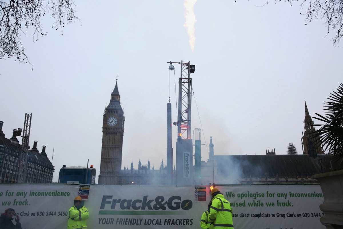 Parliament fracking