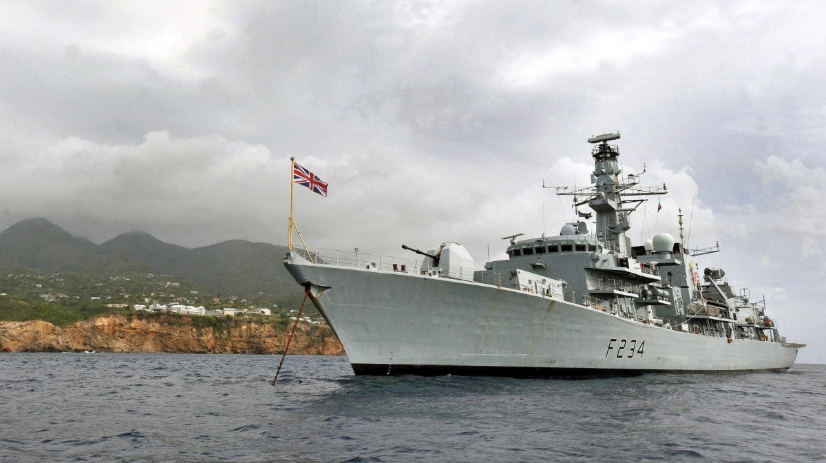 UK Royal Navy in Baltic against Russia