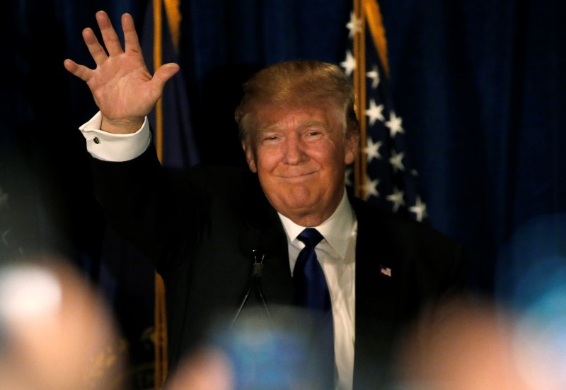 New Hampshire primary: Trump pledges to be 'best jobs president God created'