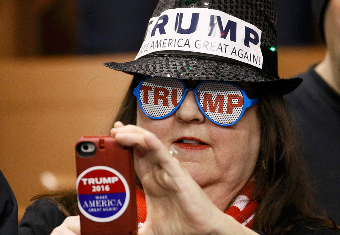 ... : The almost religious fervour of Donald Trump's most fanatical fans