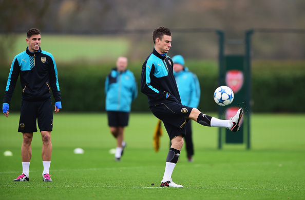 Gabriel and Laurent Koscielny
