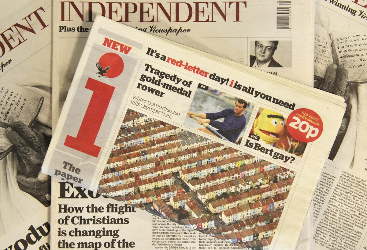 Indy closes: The Independent and The Independent On Sunday ...