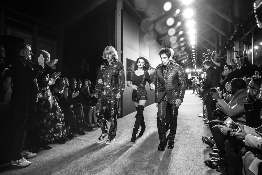 Ben Stiller and Zoolander 2 cast hit the catwalk for premiere