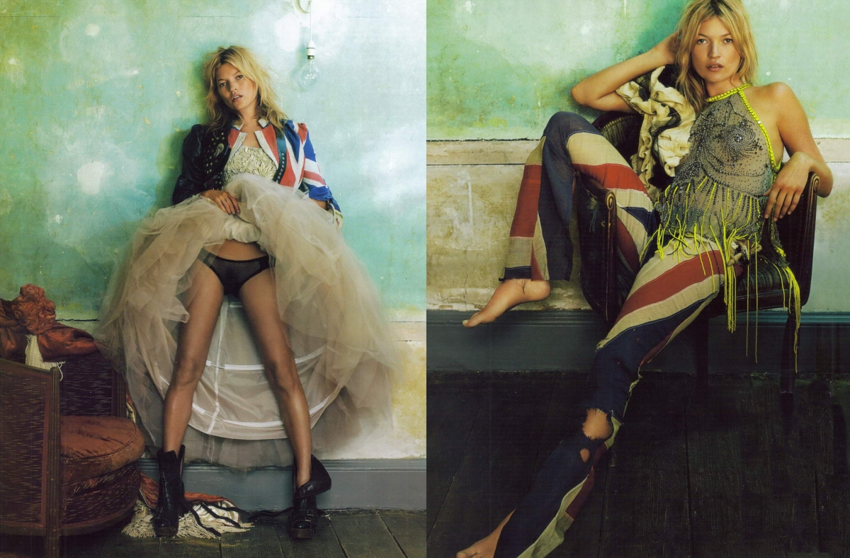 from princess diana to kate moss  british vogue celebrates 100 years at national portrait gallery