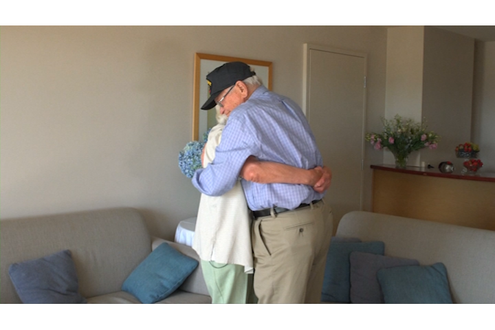 Valentine's Day: WWII sweethearts reunited after 70 years