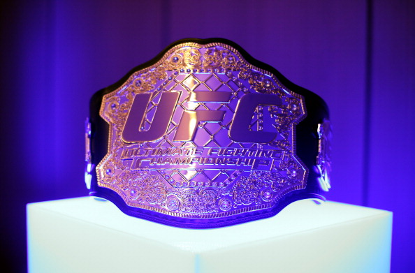 Ultimate Fighting Championship title belt