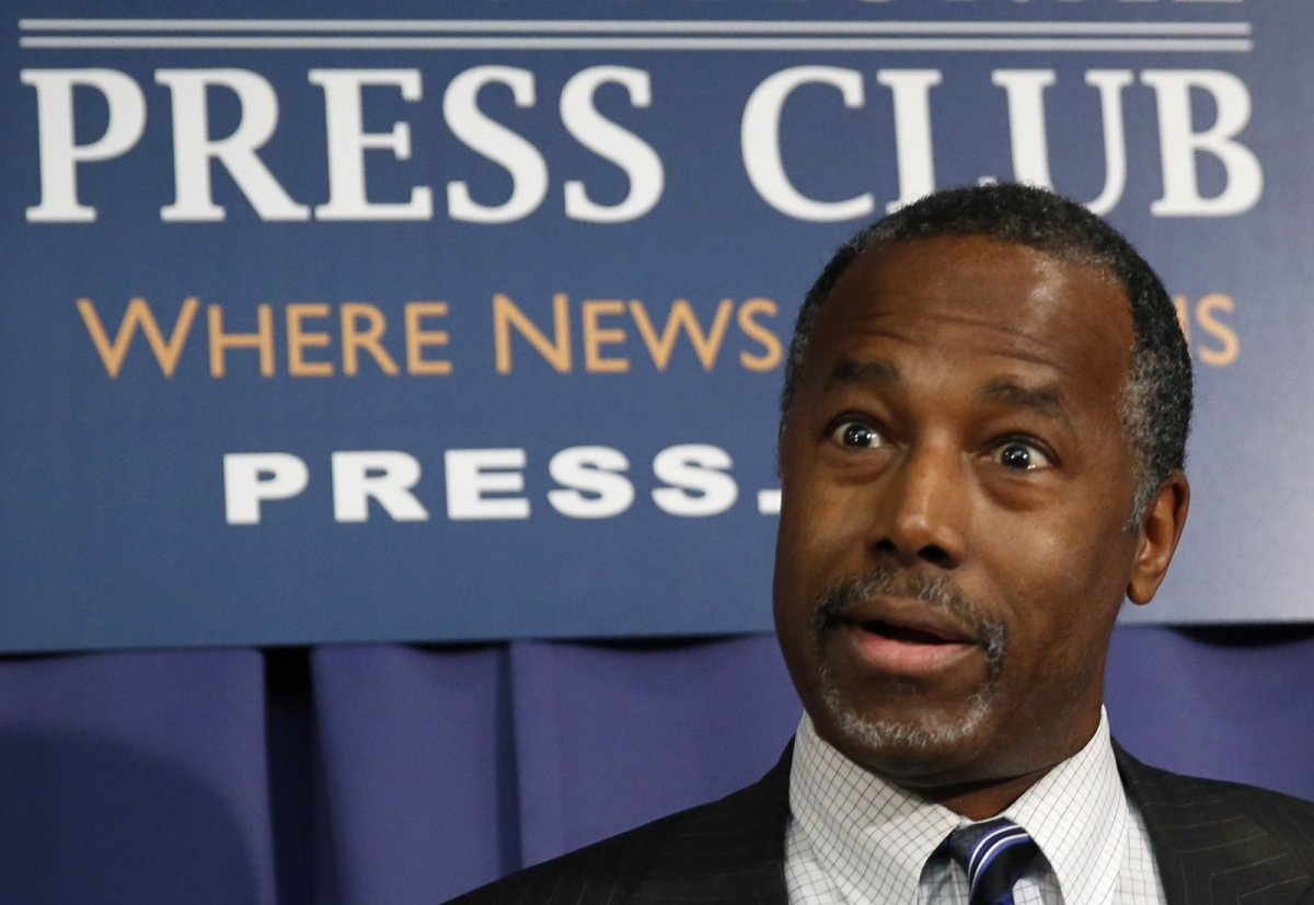 Ben Carson US Press Club 3-Feb-2016