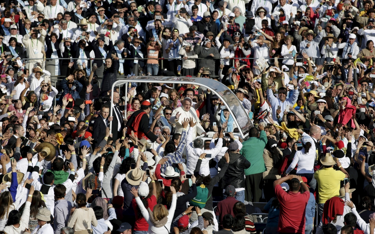 Pope Francis Mexico